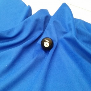 Eddie Charlton DIRECTIONAL Pool Snooker Billiards CLOTH 9ft x 4.6ft - BLUE