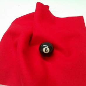 Eddie Charlton DIRECTIONAL Pool Snooker Billiards CLOTH 10X5 - CHERRY