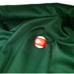 Eddie Charlton DIRECTIONAL Pool Snooker Billiards CLOTH 9ft x 4.6ft - SPRUCE