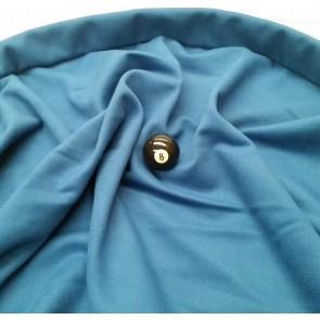 Eddie Charlton DIRECTIONAL Pool Snooker Billiards CLOTH 9ft x 4.6ft - DENIM