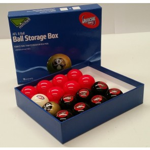 AFL Licensed POOL BALLS - 16 Pack - Essendon BOMBERS