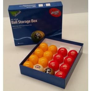 AFL Licensed POOL BALLS - 16 Pack - Gold Coast SUNS