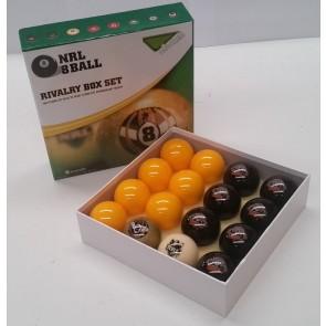 NRL Licensed POOL BALLS - 16 Pack - Wests TIGERS