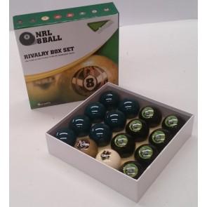NRL Licensed POOL BALLS - 16 Pack - Canberra RAIDERS