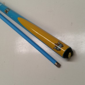 "NRL Licensed Pool Snooker Billiards CUE - 2pce 57"" - Gold Coast TITANS"