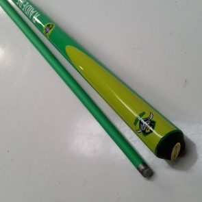 "NRL Licensed Pool Snooker Billiards CUE - 2pce 57"" - Canberra RAIDERS"