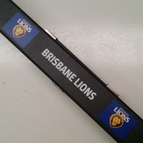 AFL Pool Snooker Billiards CUE CASE - Brisbane LIONS