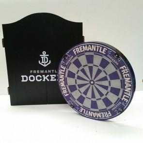 AFL Licensed DARTBOARD PACK - Fremantle DOCKERS
