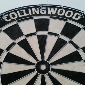 AFL Licensed DARTBOARD - Collingwood MAGPIES