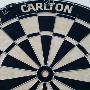AFL Licensed DARTBOARD - Carlton BLUES