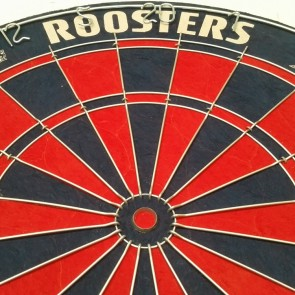 Official Licensed NRL Sydney Roosters Dartboard