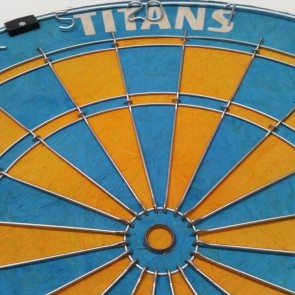 Official Licensed NRL Gold Coast Titans Dartboard
