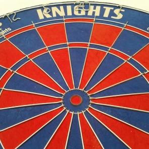 Official Licensed NRL Newcastle Knights Dartboard