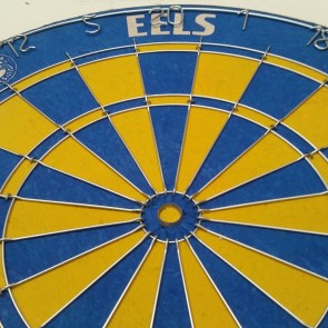 Official Licensed NRL Parramatta Eels Dartboard