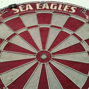 Official Licensed NRL Manly Sea Eagles Dartboard