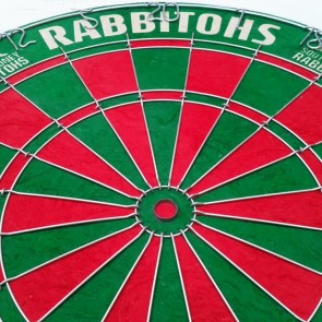 NRL Licensed DARTBOARD - South Sydney RABBITOHS