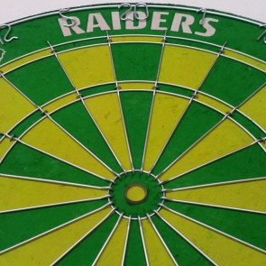 Official Licensed NRL Canberra Raiders Dartboard