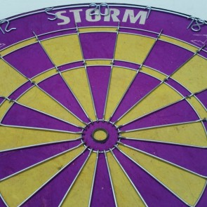 Official Licensed NRL Melbourne Storm Dartboard