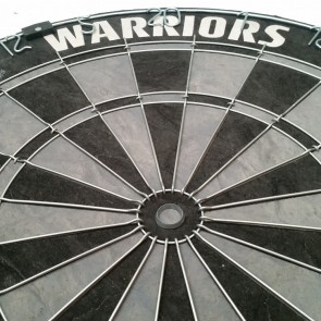Official Licensed NRL New Zealand Warriors Dartboard