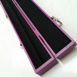 "C44 32"" Box-Style CUE CASE - PURPLE"