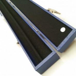"C44 32"" Box-Style CUE CASE - BLUE"