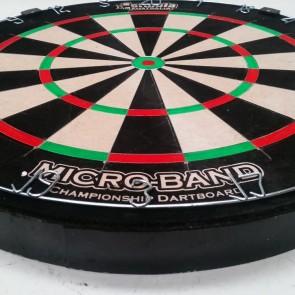Micro-Band Bristle Professional DartBoard 6 Free Darts