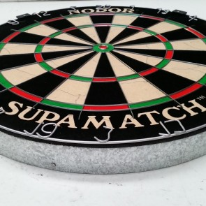 "NODOR Supamatch ""Staple-less"" DARTBOARD"