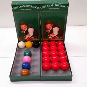 Eddie Charlton Snooker Balls 2 1/16 inch