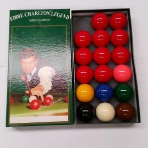 Eddie Charlton Snooker Balls 2 inch