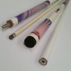 """""""Illusion"""" 2 Pce Composite Pool Snooker Billiards 57"""" CUE - Spin FX"""