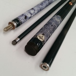 """Illusion"" 2 Pce GRAPHITE Pool Snooker Billiards 57"" CUE - Tattoo"