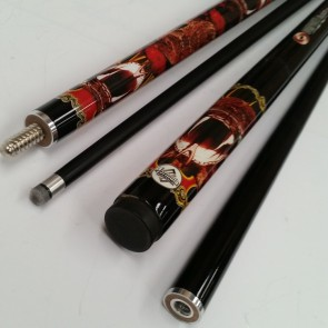 """Illusion"" 2 Pce GRAPHITE Pool Snooker Billiards 57"" CUE - Cobra"