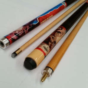 "57"" MAPLE Pool Snooker Billiards 2 Pce CUE - Saint & Sinner"