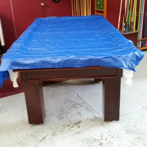 Economic VINYL Pool Snooker Billiards TABLE COVER - 8' - BLUE