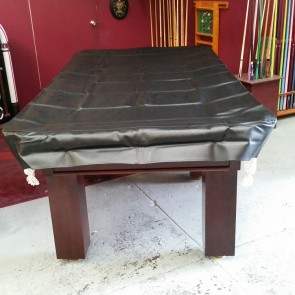 Eddie Charlton 8' Foot Heavy Duty Fitted Black Pool Table Cover