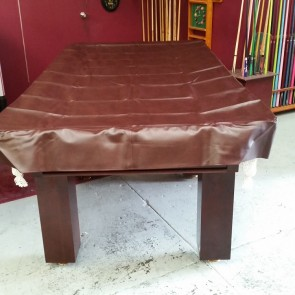 Eddie 8' Foot Heavy Duty Fitted Table Cover Burgandy