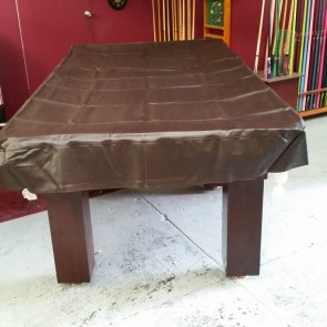Eddie 7' Foot Heavy Duty Fitted Brown Pool Table Cover