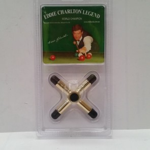 Eddie Charlton Pool Snooker Billiards CROSS REST - BRASS