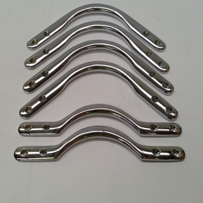 Set Of Pool Billiards Snooker POCKET BRACKETS - CHROME