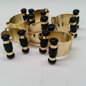 Eddie Charlton CUE RACK Replacement CLIPS (6) - BRASS
