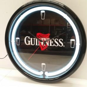 Guinness Neon Pool Room WALL CLOCK