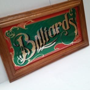 Billiards Snooker Pool Mirror
