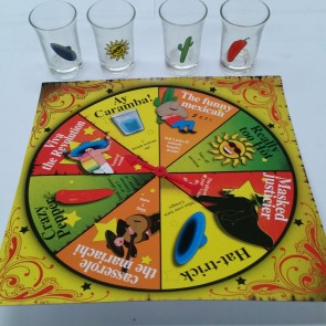 Infernal Roulette - Shot Glass Drinking Game