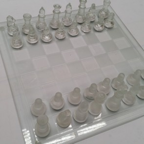 Glass CHESS Set Game