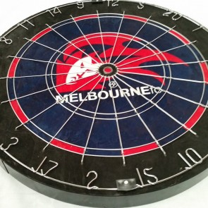 AFL Licensed DARTBOARD (OLD) - Melbourne DEMONS
