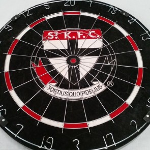 AFL Licensed DARTBOARD (OLD) - St Kilda SAINTS