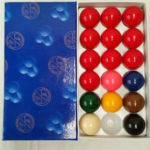 "New Standard 1 7/8"" Snooker Balls"