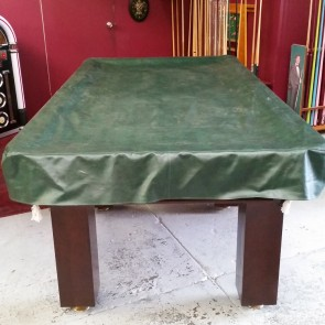 Eddie Charlton Heavy Duty FITTED Pool Snooker Billiards TABLE COVER - 9' - GREEN