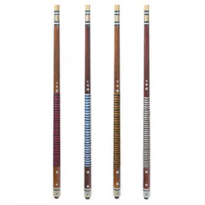"Timber CUE Nylon 57"" - Pool Snooker Billiards - 2 Piece - Red"