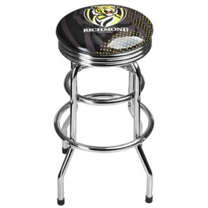 AFL Double Ring BAR STOOL - Richmond TIGERS